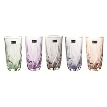 Colored Glass Cup Beer Mug Tea Cup Kitchenware Kb-Jh06160