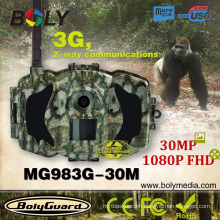 Scoutguard 30 Megapixel, 1080P FHD,3G/MMS/GPRS night version trail camera