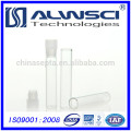 best selling products 1ml 8*40mm shell vial with plug for laboratory
