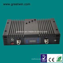 20dBm GSM 900MHz y WCDMA 2100MHz Mini amplificador de la señal del amplificador de la señal Reforzador (GW-20LAGW)