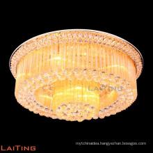 Gold modern ceiling light luxury crystal ceiling lamp