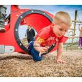 Nettes Auto-HPL-Spielplatz-Spielhaus im Freien