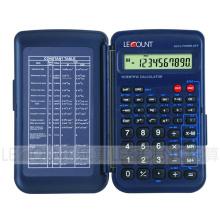 56 Funktionen 10 Ziffern Display Scientific Calculator mit Frontabdeckung (LC709F)