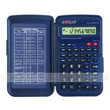 56 Functions 10 Digits Display Scientific Calculator with Front Cover (LC709F)
