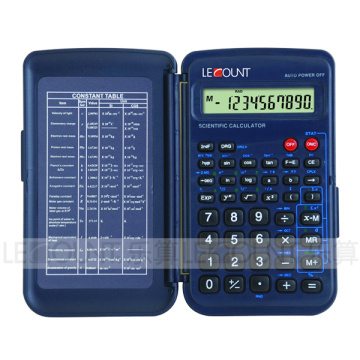 56 Funktionen 10 Ziffern Display Scientific Calculator mit Frontabdeckung (LC709F)