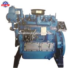 Motor diesel do bote de 4 cilindros
