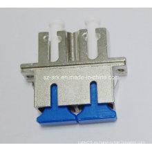 Adaptador híbrido de fibra óptica monomodo dúplex Sc-LC
