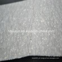 Folha de fibra de borracha com resistência a óleo