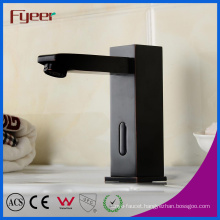 Oil Rubber Bathroom Basin Infrared Automatic Sensor Faucet