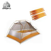 camping telescopic custom aluminum alloy tent poles frame