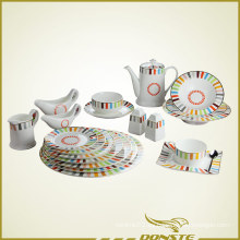 Manchado conjunto de cerámica 20 PCS liberación de color serie