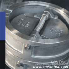 Vatac API Wafer doble placa de acero fundido válvula de retención