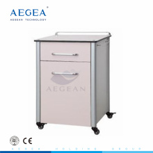 AG-BC013 hospital clinic white bedroom wood chinese bedside cabinet