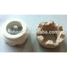 Cordierite Ceramic Ferrules for Nelson Shear Connector Welding studs