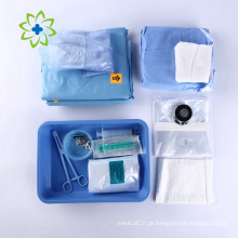 Pacote de curativo cirúrgico, produto médico animal esterilizado