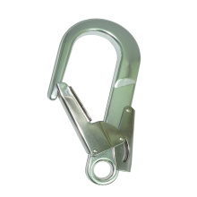 A7311 CE Aluminium Safety Double Latch Forged Snap Hook