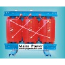 Transformador seco de la clase de 630kVA 10kv, transformador de alto voltaje