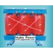 Tipo seco transformador da classe de 630kVA 10kv, transformador de alta tensão