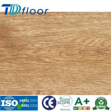 Fácil instalación Unilin haga clic en piso de vinilo de PVC