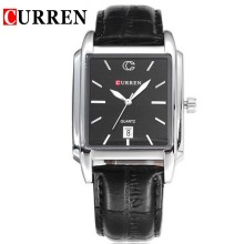 Curren Japan Movt Leather Band Men Watch