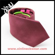 Handgemachte Männer Designer Seide Jacquard gewebte Krawatten feste Krawatten