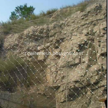 Side Slope Protecting Mesh Fence
