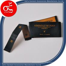 Etiqueta tecida de alta qualidade, etiqueta para roupas, etiquetas para roupas