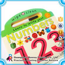 Профессиональный Поставщик пользовательские дизайн детской деятельности книга с карандашами