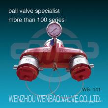 Acero inoxidable (304, 316) Precio de hidrante de incendios