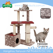 Eco-friendly Hot Selling Cheap Sisal Rope Fancy New Products Design Cat Scratching Tree