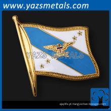 personalize alfinetes de metal, alfinetes de bandeira de esmalte macio personalizados de alta qualidade