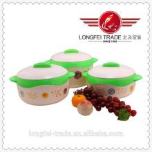 3 PCS definir nova caixa de almoço de preservação de calor Protable