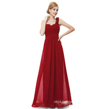 Long Evening Dresses Chiffon One Shoulder Prom Dress