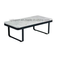 Rectangle Metal Base Furniture Table d'ameublement pour salle de séjour (SP-GT436)