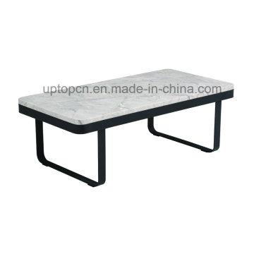 Rectangle Metal Base Furniture Table d'ameublement pour salle de séjour (SP-GT436)