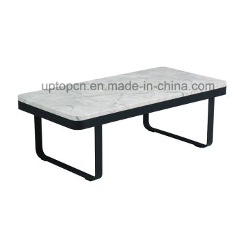 Rectangle Metal Base Hotel Furniture Table for Living Room (SP-GT436)