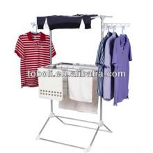 Lavandería colgante de rack para la ropa interior de pie