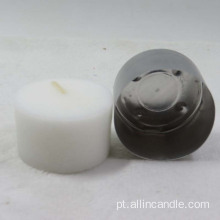 vela amarela do tealight do sandlwood