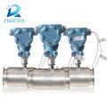 Высокое качество измеритель прокачки турбины с винтом подключение газа расходомер