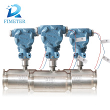 Automatic fuel nozzle with digital turbine flowmeter, gas turbine flowmeter