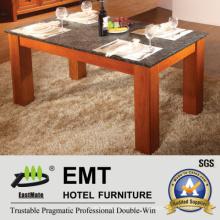 Mesa de comedor de madera maciza de 2016 (# 6913 mesa de comedor)