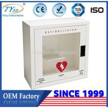 Para AED Hsinda-Cabinet fabrica gabinete de desfibrilador de alta calidad con alarma