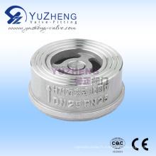 Wafer Fabricant de clapets anti-retour en acier inoxydable