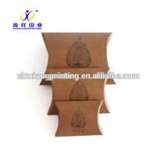 Embalaje disponible de la caja de almohada, caja de papel de Kraft, XinXiang