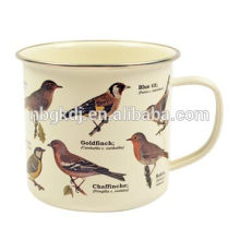 Conduite prudente Enamel tube tasse japon Attention Conduite Enamel tube tube japon
