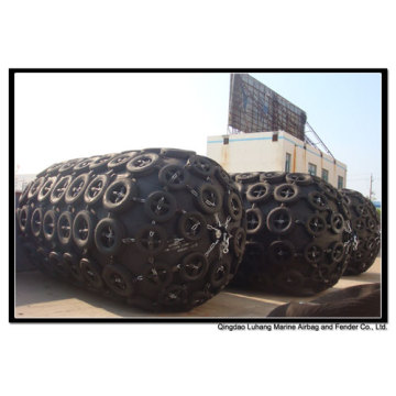 Diâmetro 3600mm x comprimento 7200mm pneumático Fender