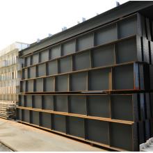 Marco de acero estructural ligero moderno