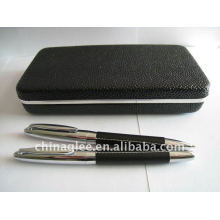 exclusive leather pen set