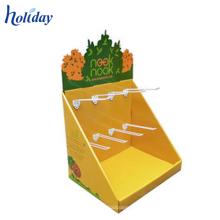 Caixa de exposição do contador do papel de varejo dos acessórios do Tabletop