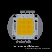Chip blanco / blanco cálido integrado de 100w LED